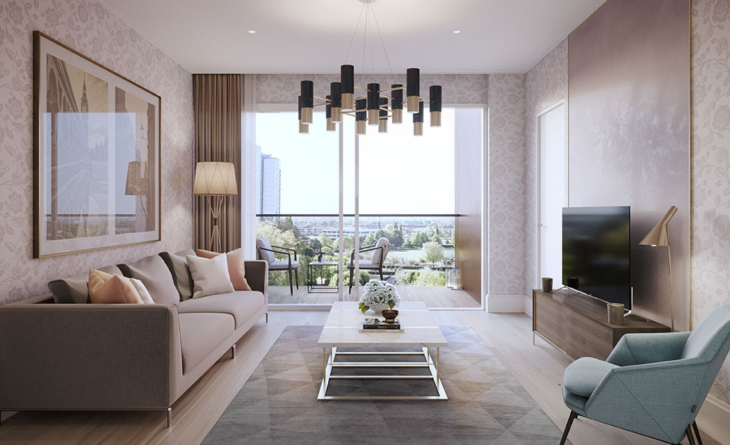 bronze-wandsworth living-room